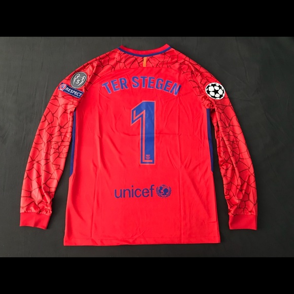 64e69384a FC Barcelona Jersey Goalkeeper Ter Stegen  1 Large
